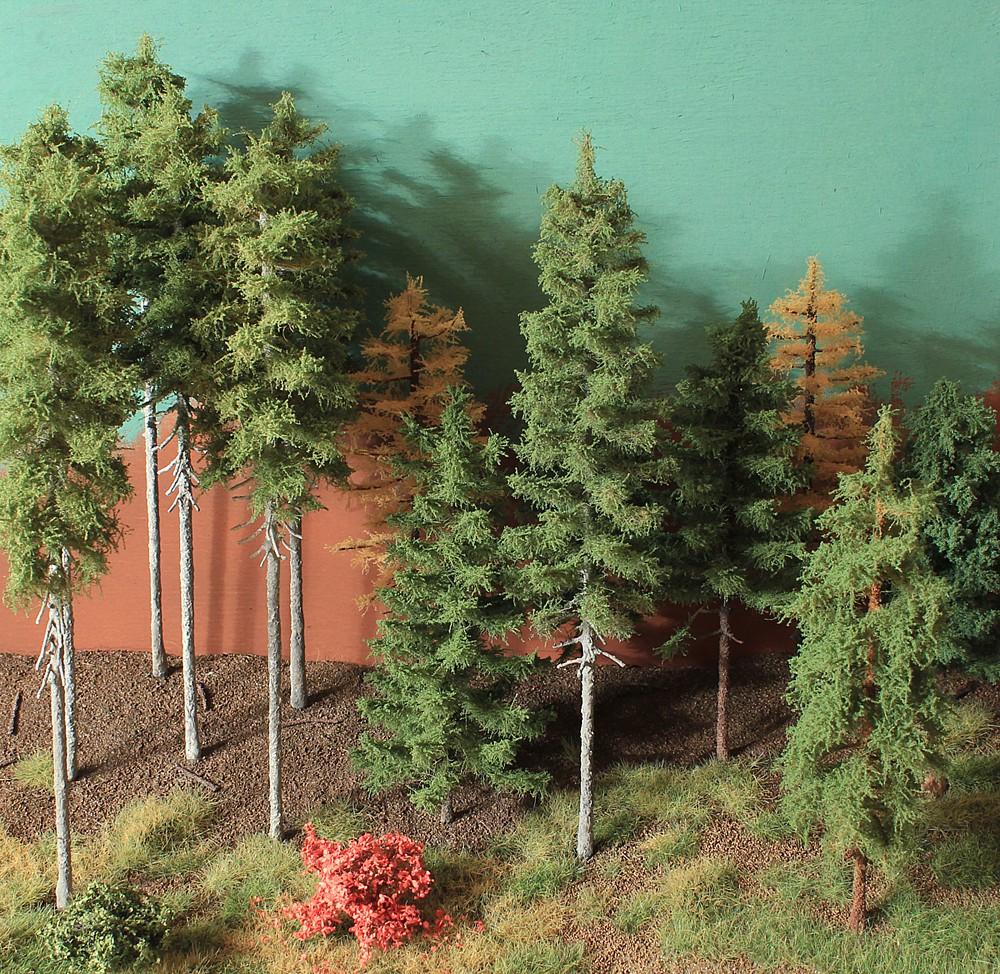 Картинки леса и сада своими руками